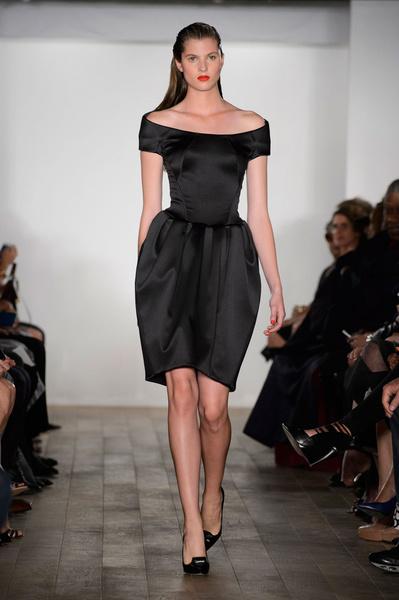 Показ Zac Posen на Неделе моды в Нью-Йорке