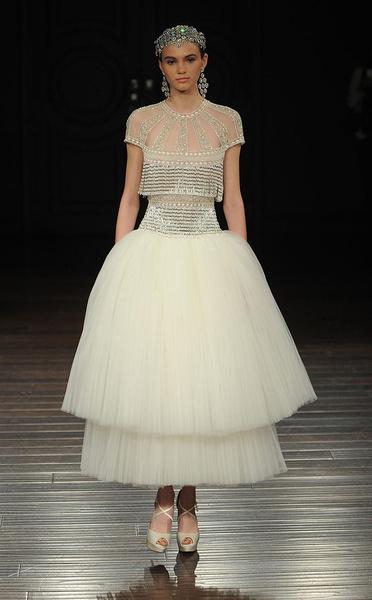 Лучшие коллекции Недели свадебной моды | галерея [5] фото [9]