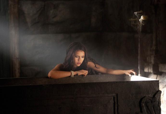 Кадр из сериала «Дневники вампира»