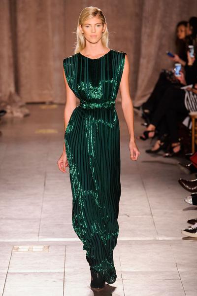 Black tie: показы Carolina Herrera, Reem Acra и Zac Posen на Неделе моды в Нью-Йорке | галерея [1] фото [6]