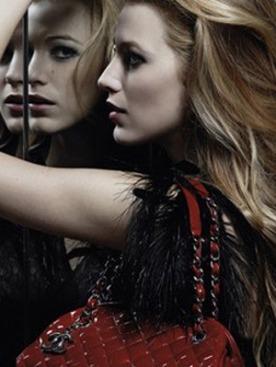 Блейк Лавли в рекламной кампании Chanel