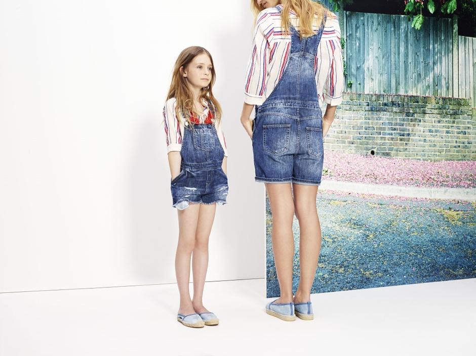 Детская одежда из денима