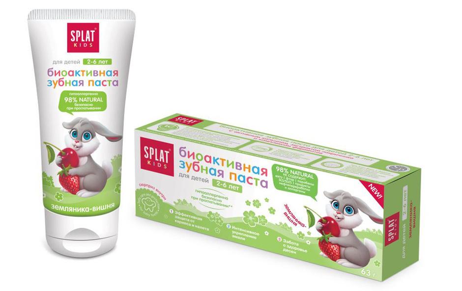 Биоактивная зубная паста от Splat