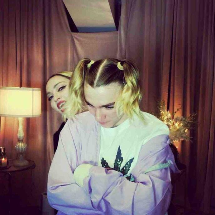 Мадонна и Рокко