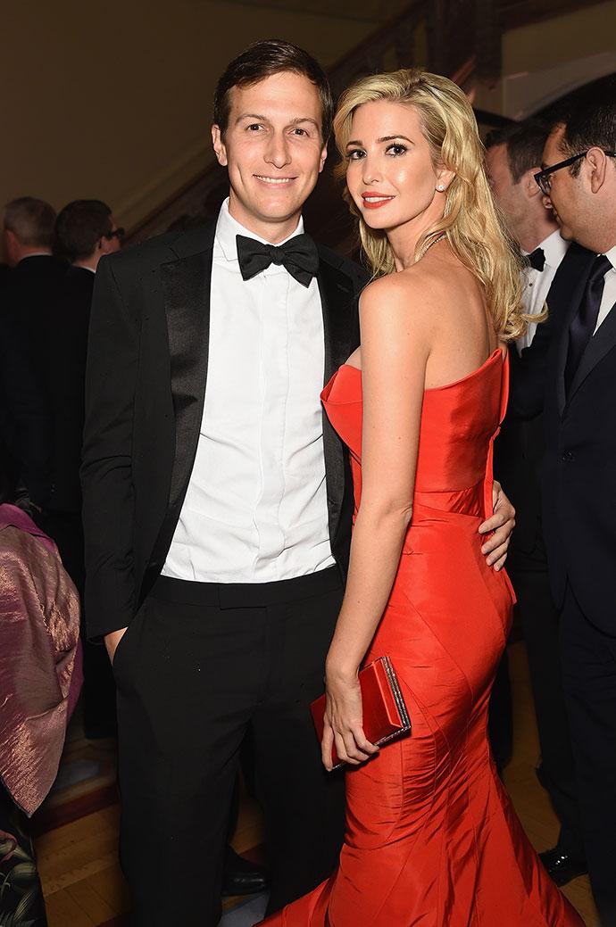 Джаред Кушнер с супругой Иванкой Трамп