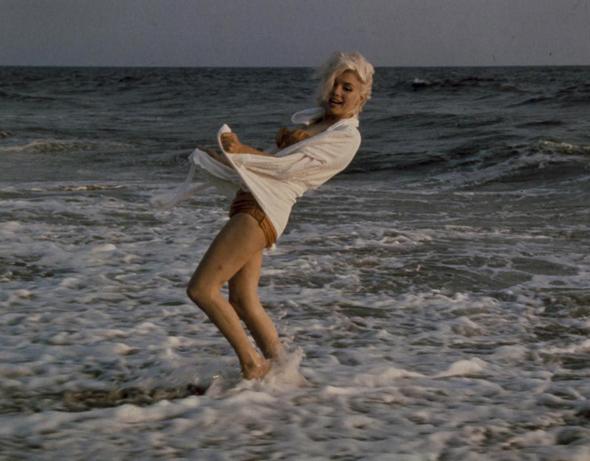 Мэрилин Монро на пляже