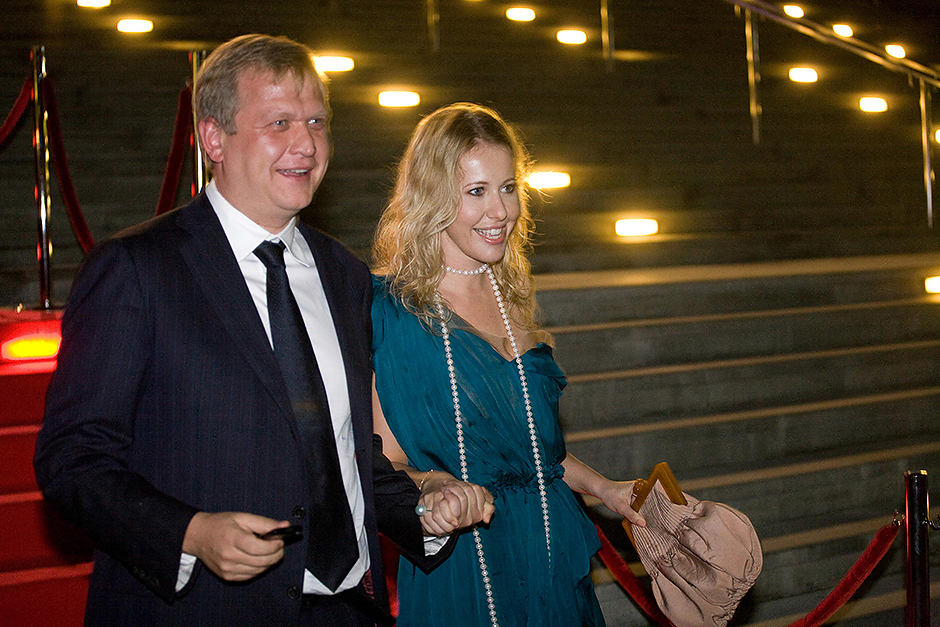 Ксения Собчак и Серей Капков