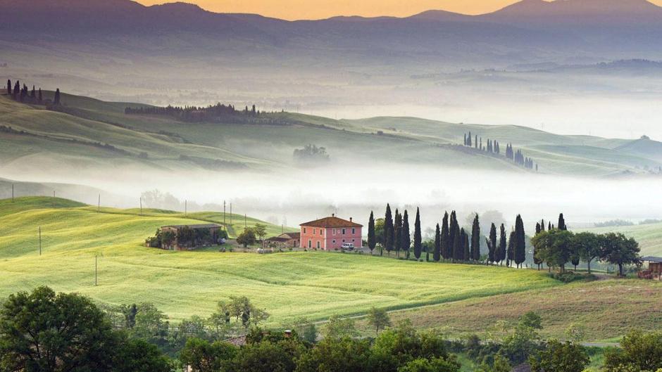 6. Баньо Виньони, Тоскана, Италия