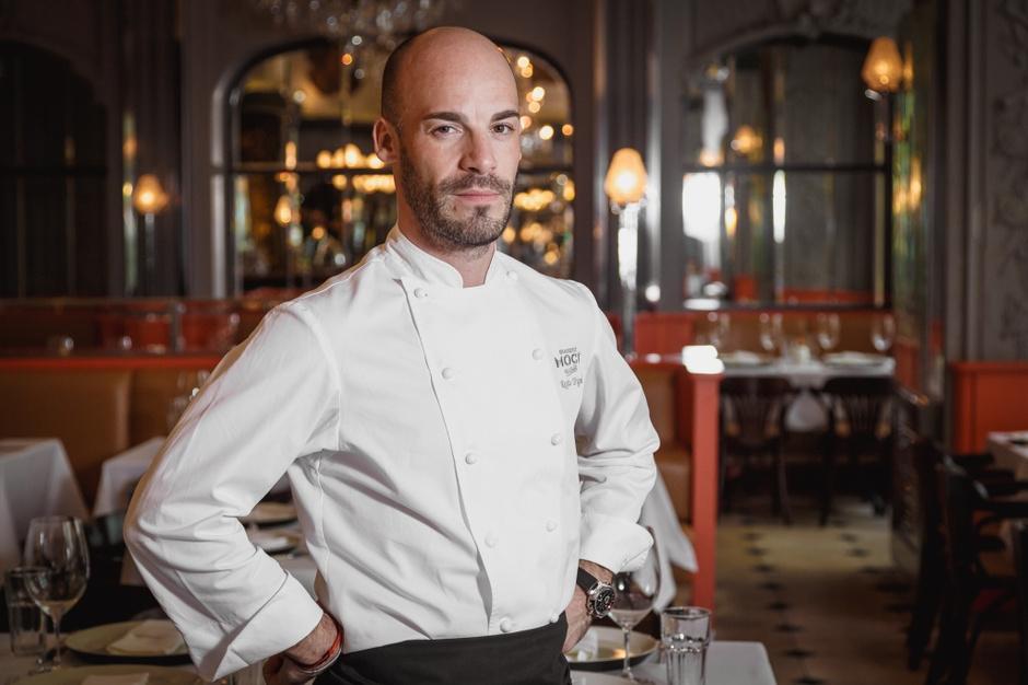 Режис Тригель, шеф-повар Brasserie Мост и бренд-шеф бара «Стрелка»