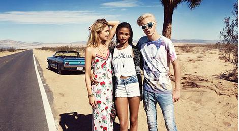 Фестивальная коллекция H&M Loves Coachella | галерея [1] фото [15]
