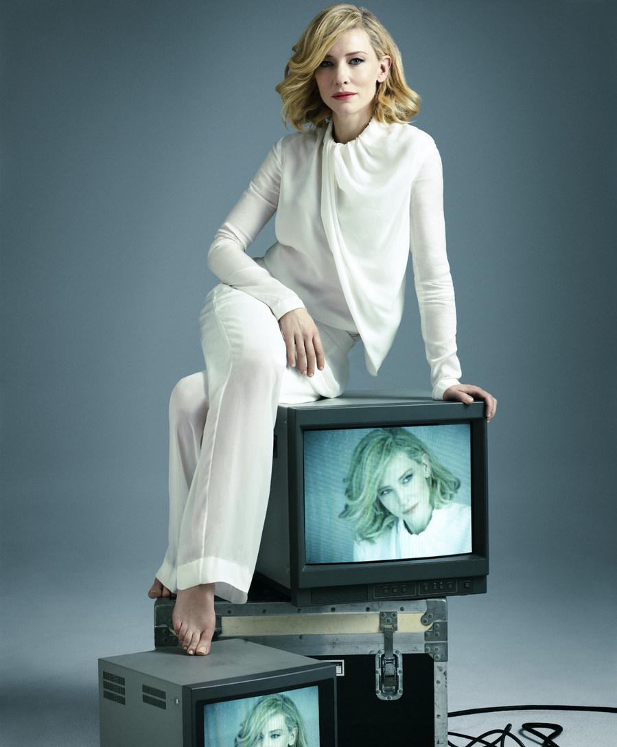Кейт Бланшетт фото Elle