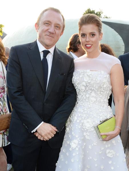 Франсуа-Анри Пино и Принцесса Беатрис