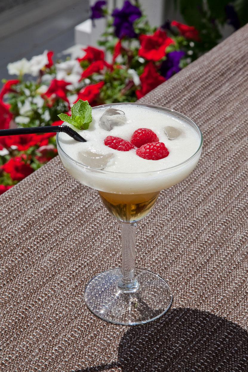 Безалкогольный напиток «Дыня и Лайм» от ресторана яхт-клуба «Буревестник»