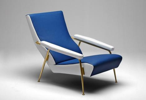 Кресло D.153, дизайнер Джо Понти, Molteni&C, салоны «Интерьеры-Т», «Трио», «Частная коллекция»