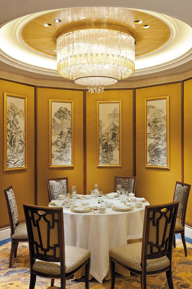 Ресторан высокой кантонской кухни Shang Palace