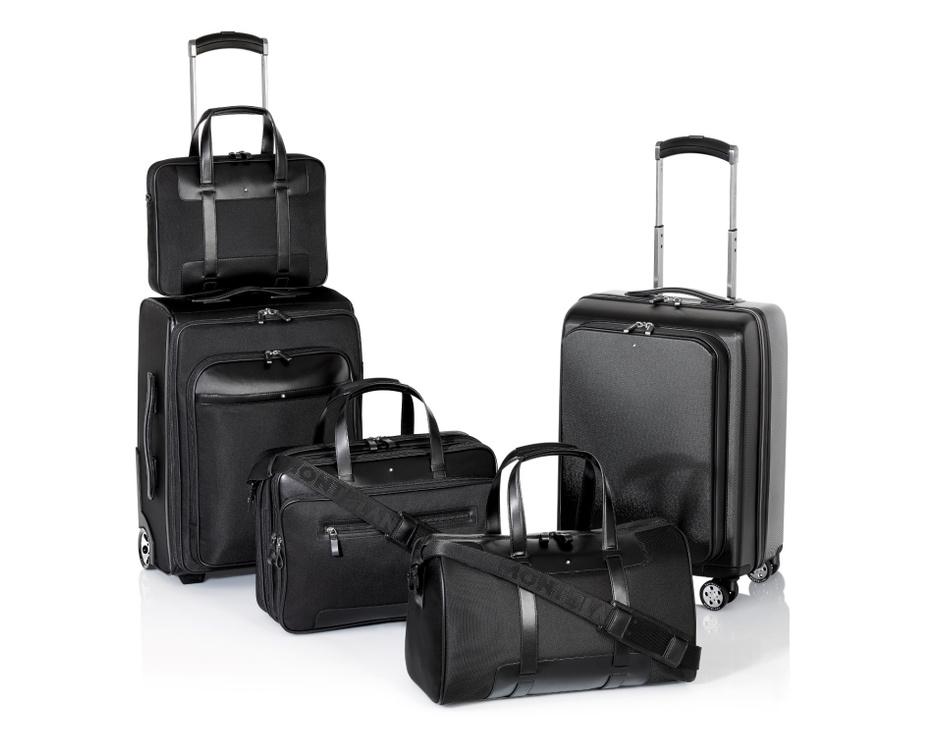 Montblanc представил коллекцию чемоданов и дорожных сумок Nightflight