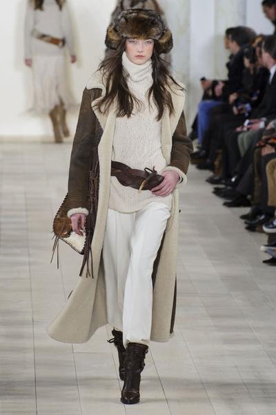 Показ Ralph Lauren на Неделе моды в Нью-Йорке | галерея [1] фото [26]