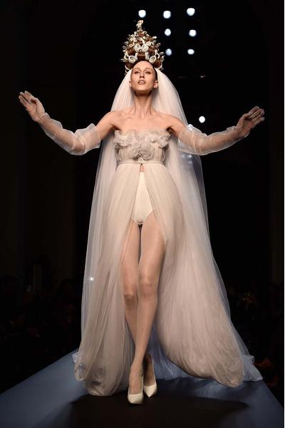 Показ Jean Paul Gaultier Couture | галерея [1] фото [54]
