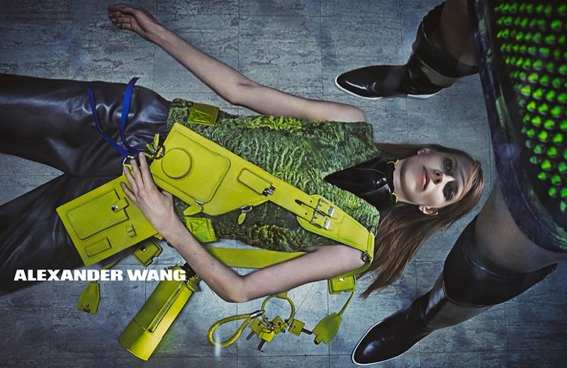 Рекламная кампания Alexander Wang осень-зима 2014-15