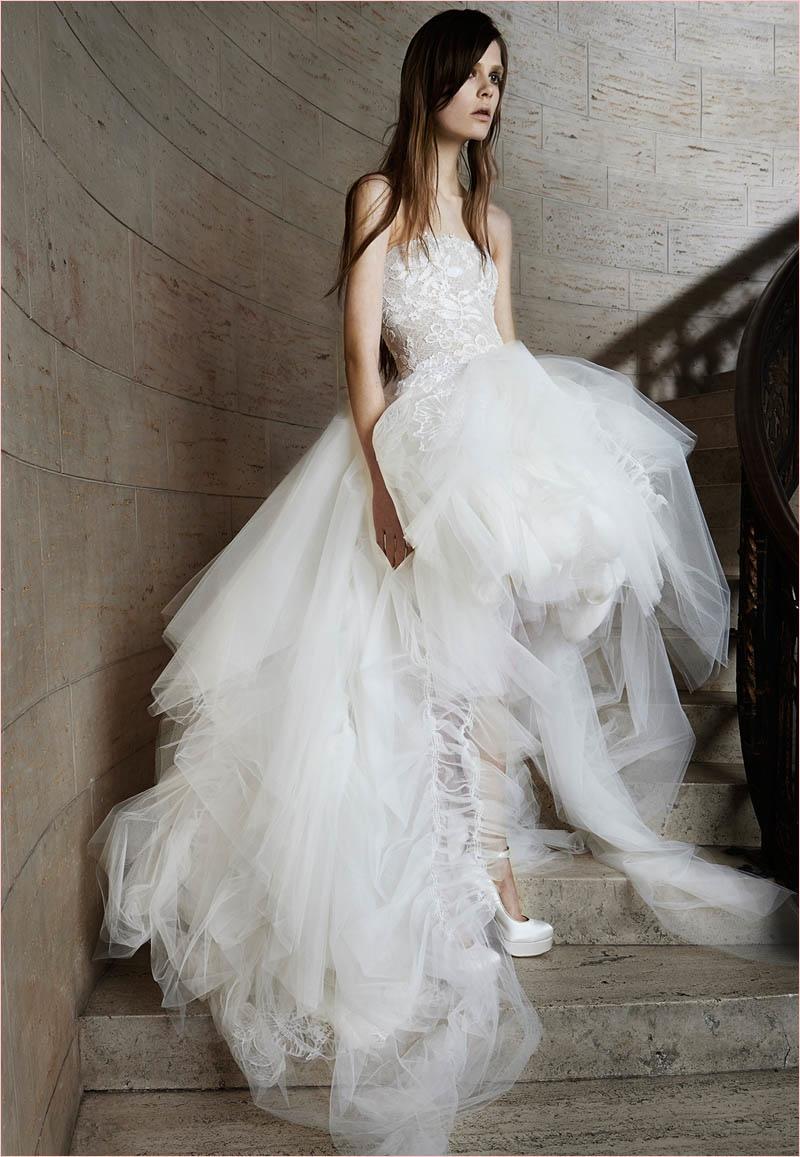 Пышное свадебное платье: фото