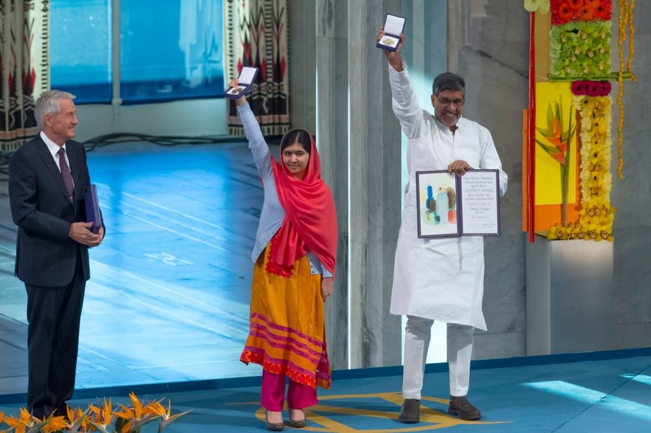 Малала Юсуфзай и Кайлаш Сатьяртхи