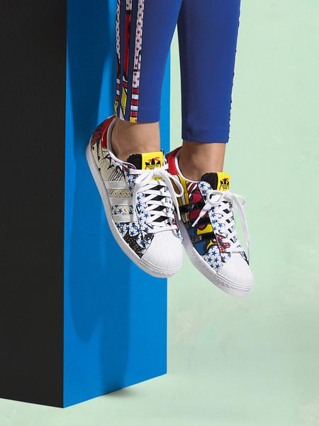 Рита Ора создала новую коллекцию для adidas Originals | галерея [1] фото [8]