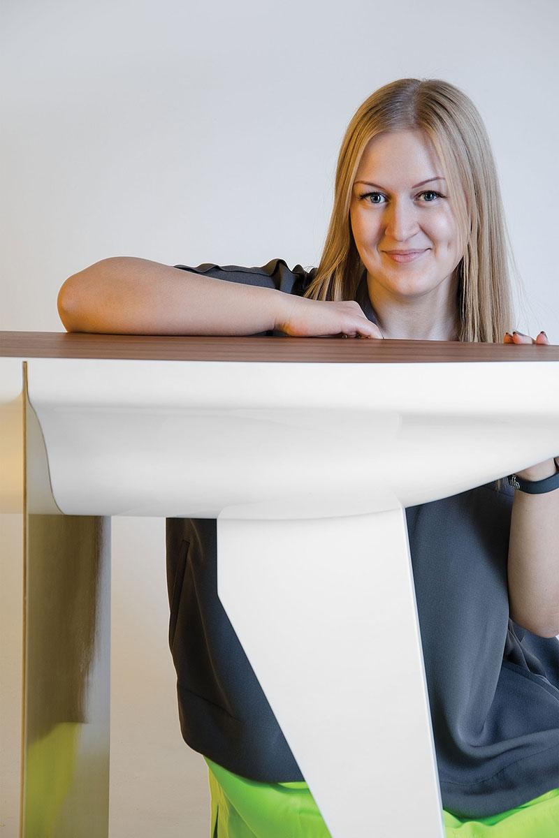 Екатерина Елизарова и ее новая консоль Noah.