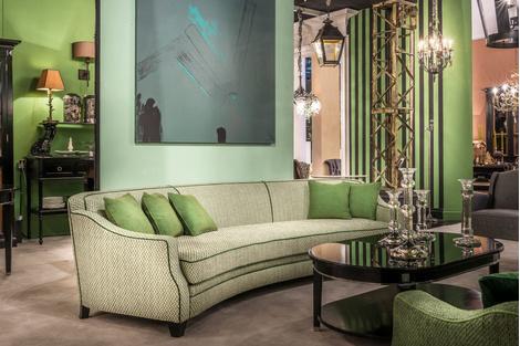 Мягкой посадки: диван от Mis en Demeure | галерея [1] фото [2]