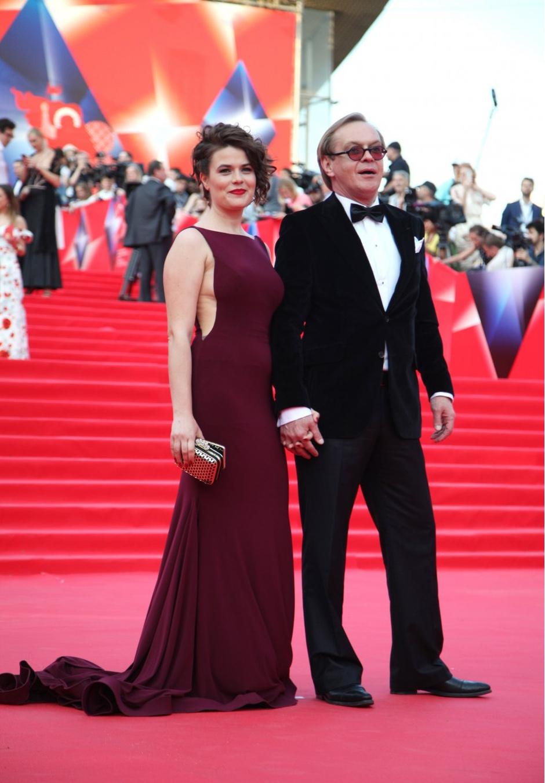 Михаил Горевой с супругой