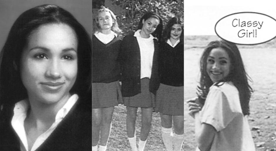 Меган Маркл в школьные годы