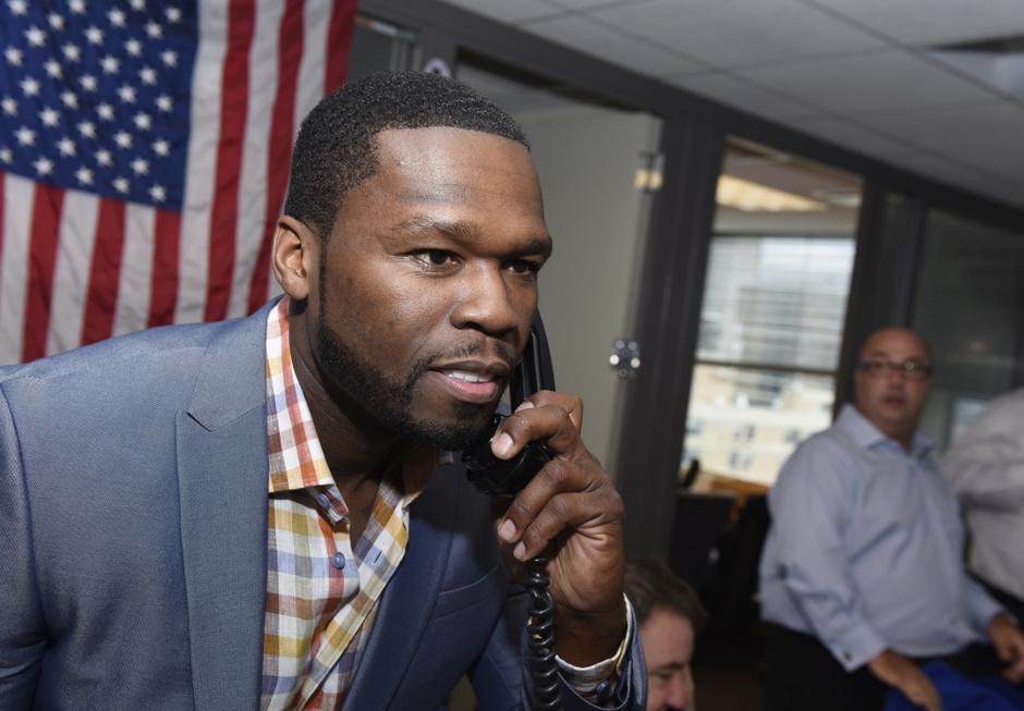 Рэпер 50 Cent: фото 2014