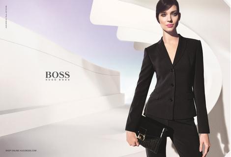 Новая рекламная кампания HUGO и BOSS