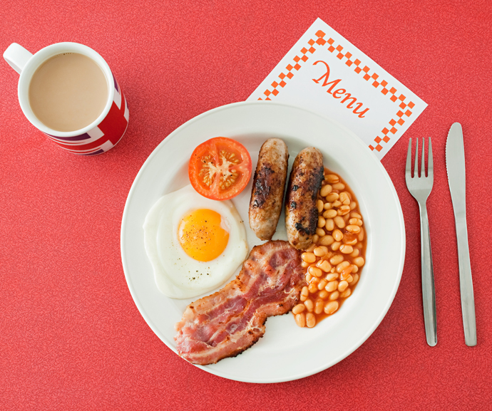 завтраки разных стран Англия