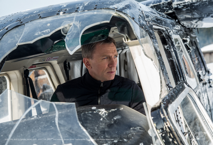Дэниел Крэйг в фильме «007: СПЕКТР»