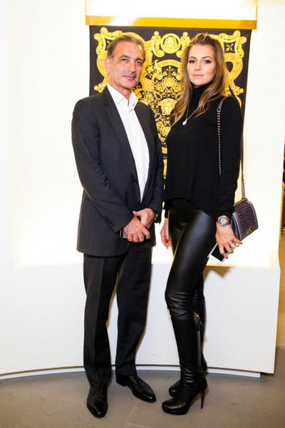 Селебрити на презентации осенней коллекции Versace | галерея [1] фото [5]