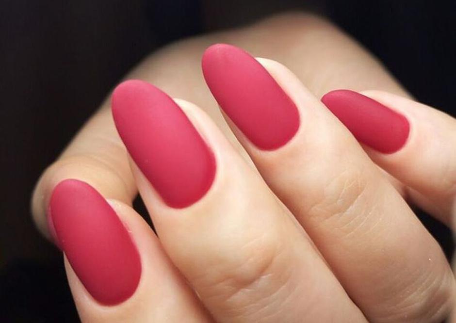 Миндалевидная форма ногтей фото