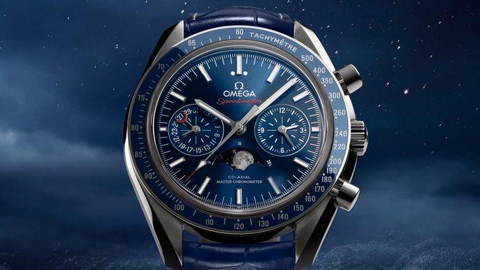 Omega представляет новые часы Speedmaster CHRONOMETER CHRONOGRAPH Moonphase