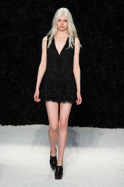 Vera Wang представила новую коллекцию на Неделе моды в Нью-Йорке