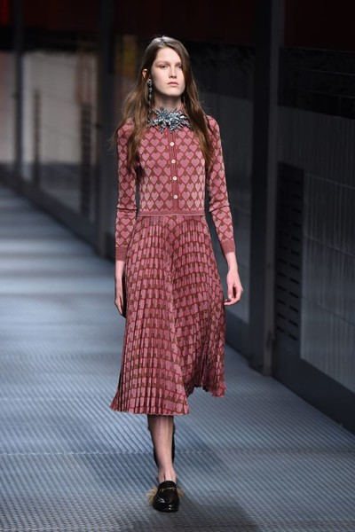 Показ Gucci на Неделе моды в Милане | галерея [1] фото [5]