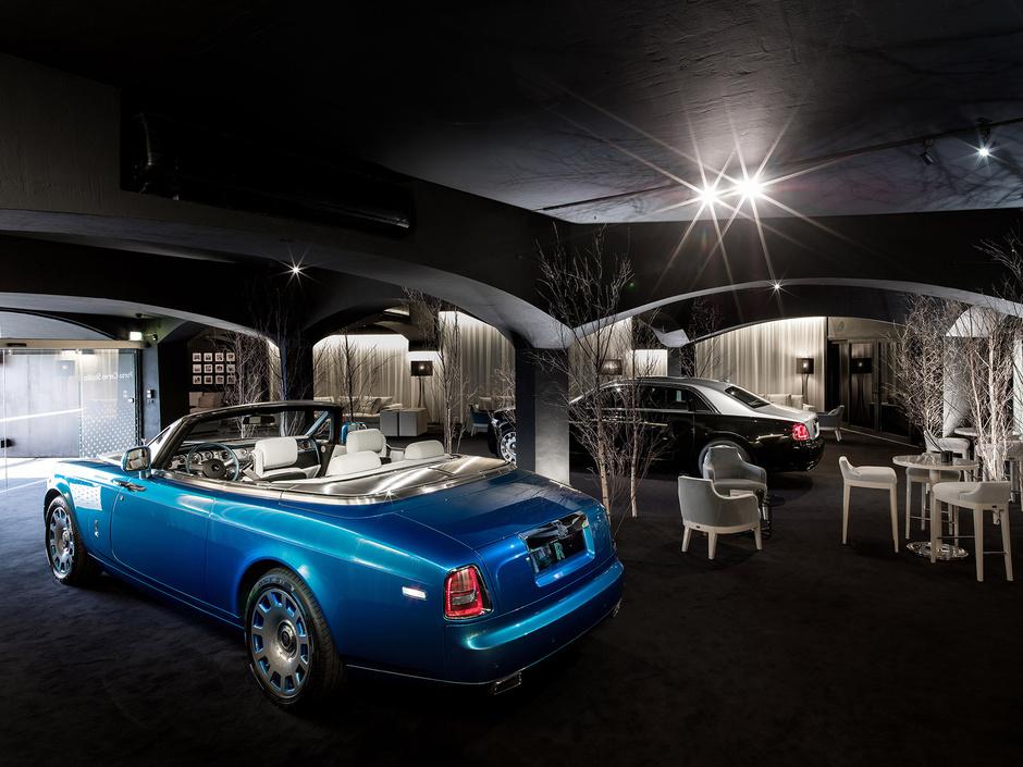 Rolls-Royce открыл летнюю студию на Сардинии фото 3