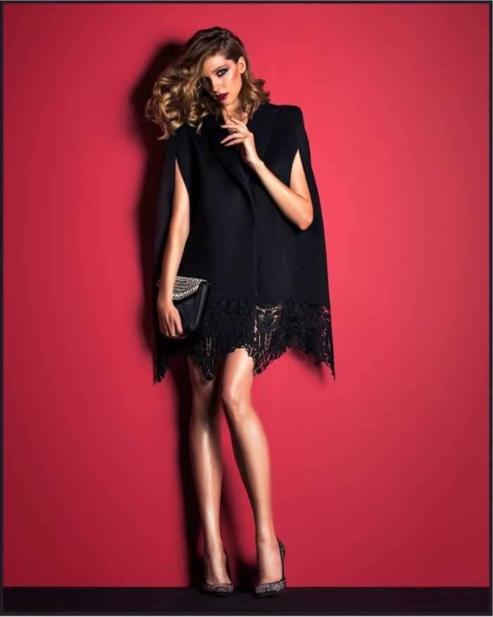 Красивое черное платье: фото
