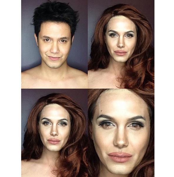 Филиппинский визажист перевоплотился в звезд с помощью макияжа | галерея [1] фото [11]