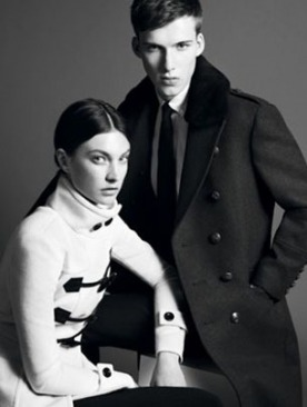 Burberry Black Label осень 2011