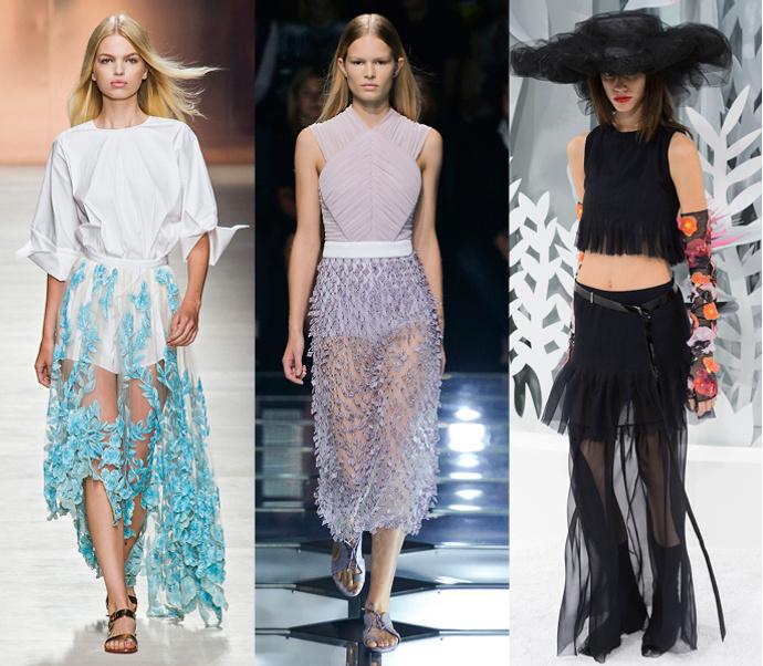 Подиум: Blumarine, Balenciaga, Chanel