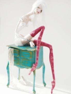 арт-проект «Избитый гламур»