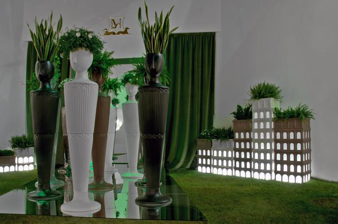 Вазы и горшки для цветов, Le Porcellane, дизайн Самуэле Мацца