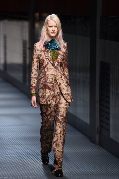 Показ Gucci на Неделе моды в Милане | галерея [1] фото [18]