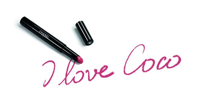 Кира Найтли в новой рекламной кампании Chanel Rouge Coco Stylo