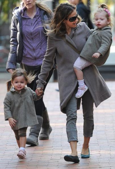 Сара Джессика Паркер с дочерьми