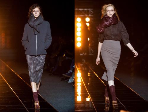 На фото: показ коллекции Кирилл Гасилин, осень-зима 2010